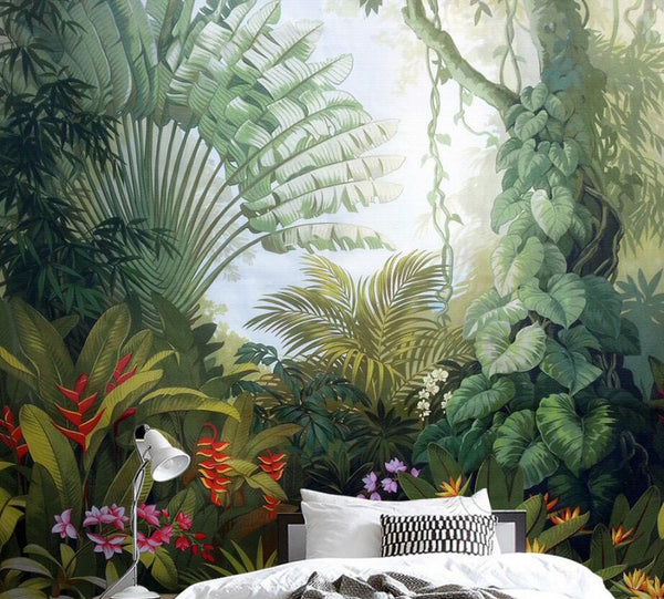 Luxuriant Garden Mural Wallpaper