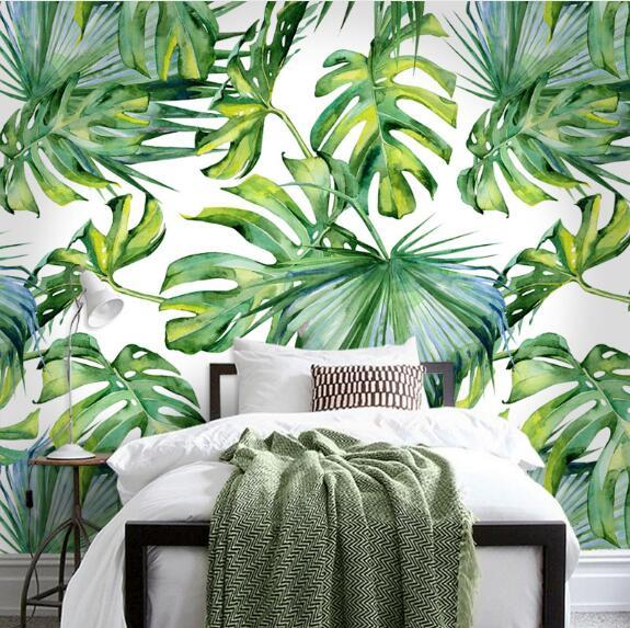 Tropical Rainforest Bedroom Mural Wallpaper