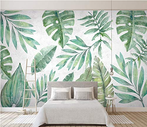 Tropical Herbarium Mural Wallpaper