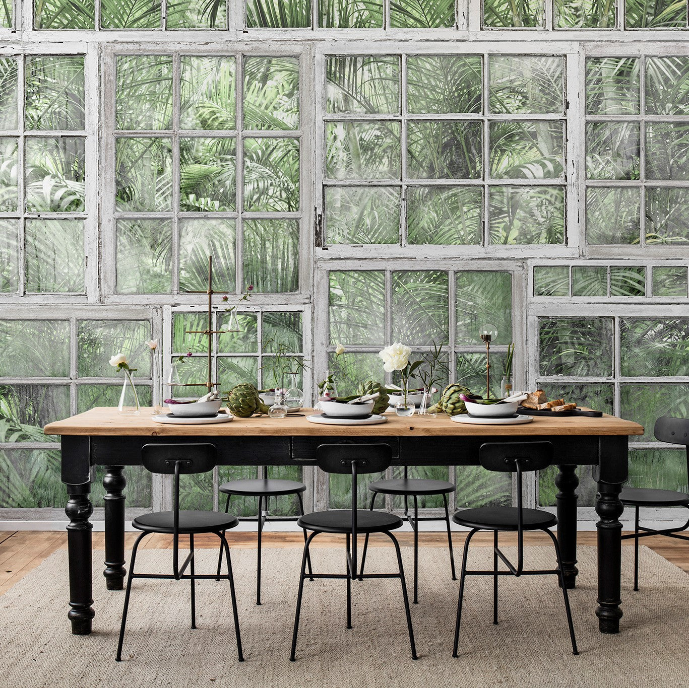 Garden Loft Mural Wallpaper (SqM)