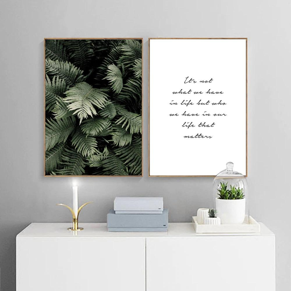 Scandinavian Motivational Canvas Print