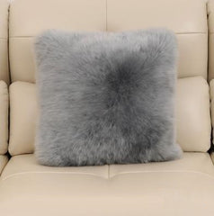 Natural Sheepskin Cushion Pillow