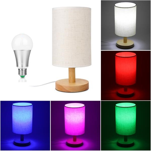 Nature Linen Shade Table Lamp