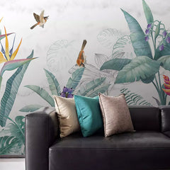 Pastel Garden Mural Wallpaper (SqM)