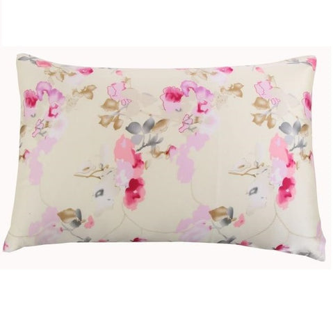 Spring Blossoms Mulberry Silk Pillowcase