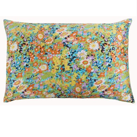 Floral Field Mulberry Silk Pillowcase