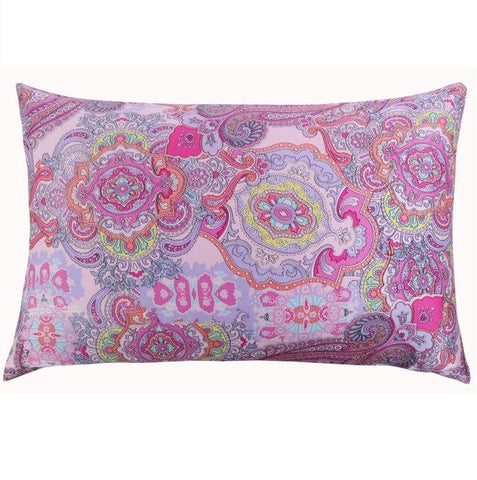 Mandala Mulberry Silk Pillowcase