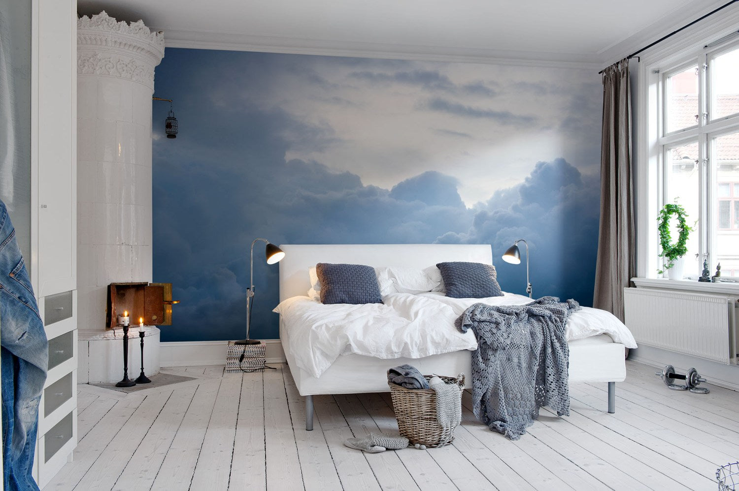 Above the Clouds Mural Wallpaper (SqM)