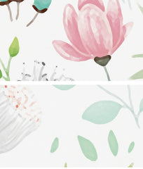 Botanical Floral Variance Wall Mural (SqM)
