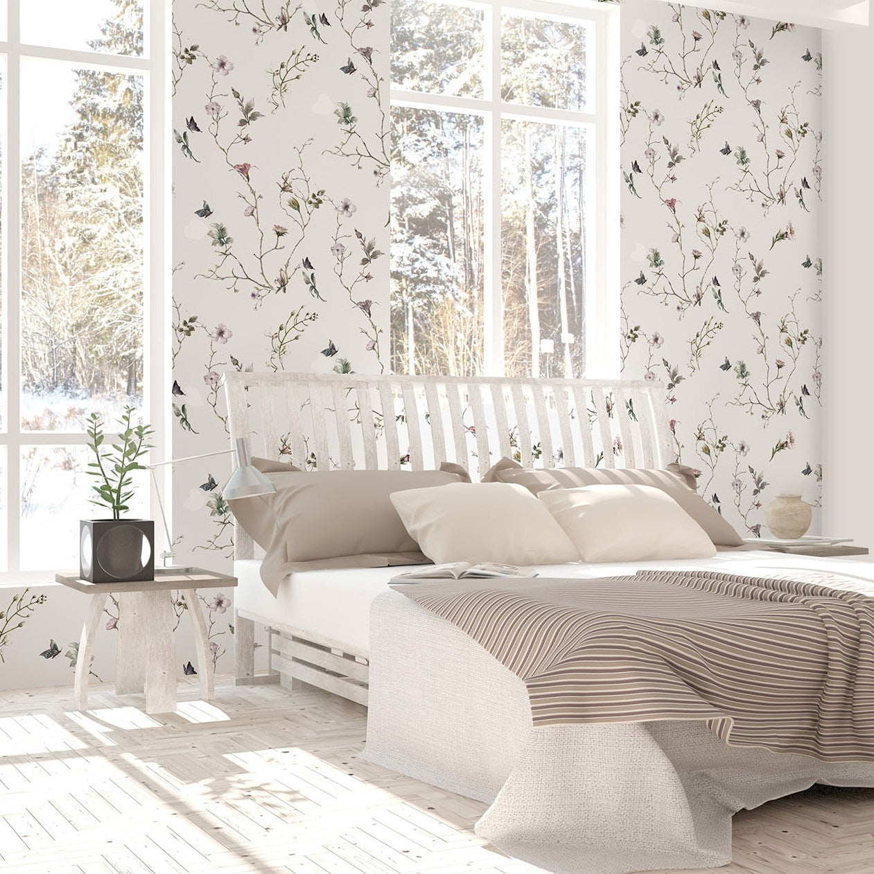 White Story in Olbia Mural Wallpaper (SqM)