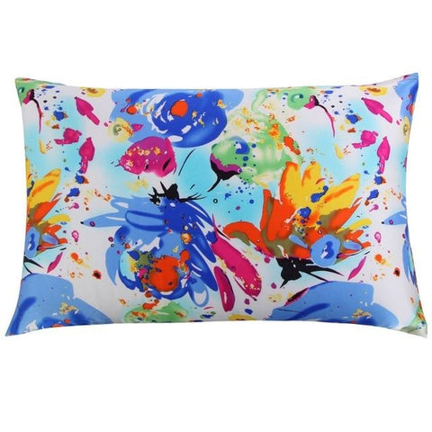 Tropical Vibes Mulberry Silk Pillowcase