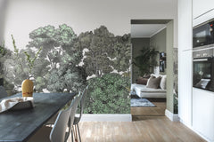 Bellewood Original Forest Painting Mural Wallpaper (SqM)