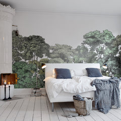 Jass London Original Green Forest Mural Wallpaper