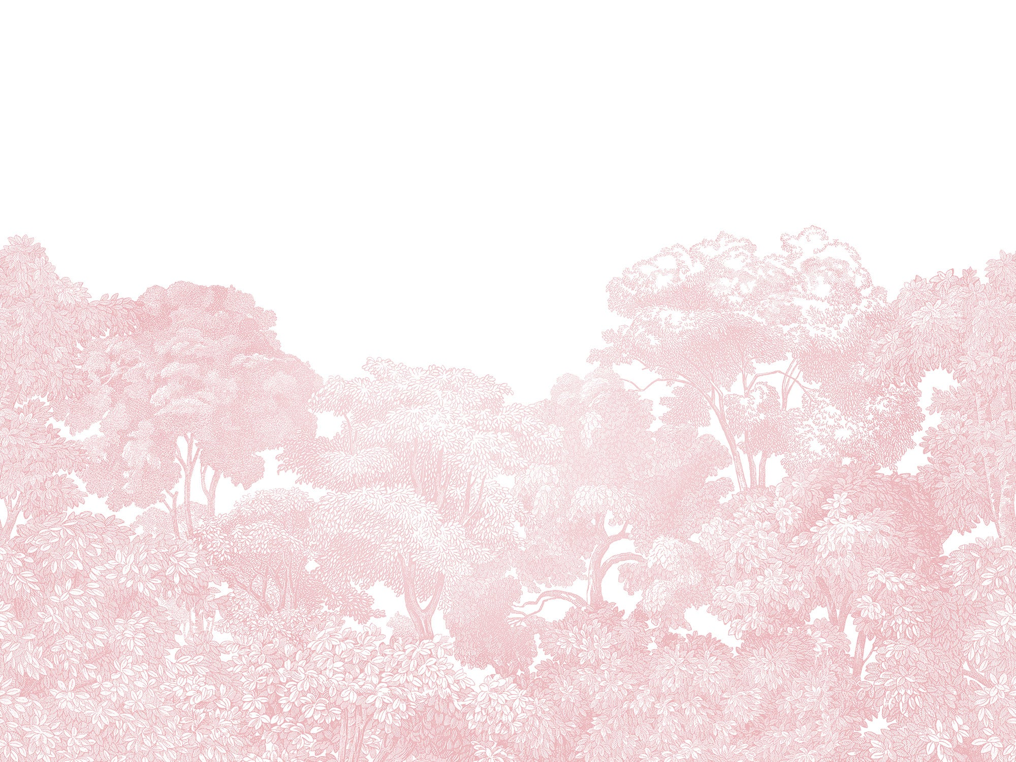 Bellewood Dusty Pink Forest Mural Wallpaper (SqM)