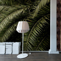 Palm Leaves Love Mural Wallpaper (SqM)