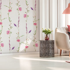 Pink Flowers of Avetrana Wallpaper (SqM)