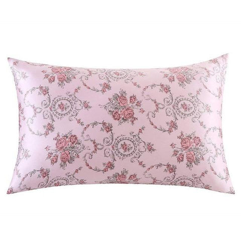 Vintage Rose Mulberry Silk Pillowcase