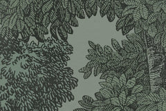 Bellewood Bold Green Forest Mural Wallpaper (SqM)