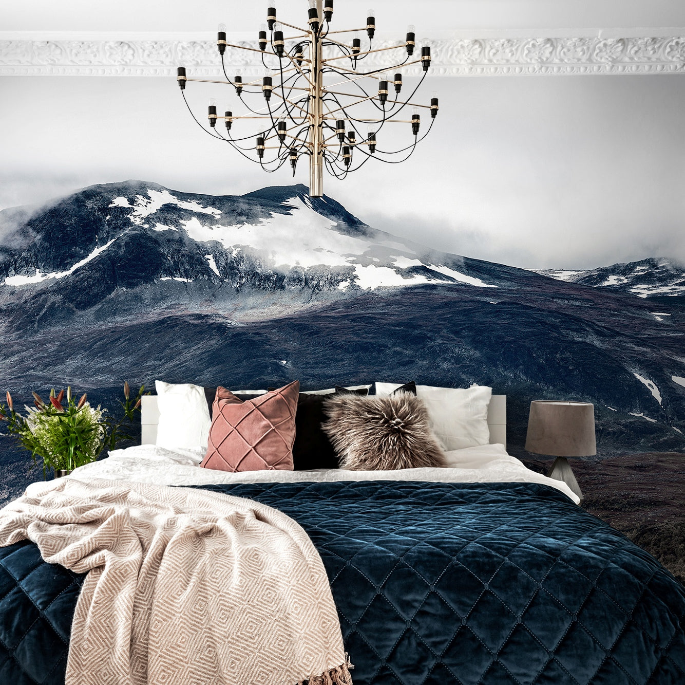 The Wild North Mountains Mural Wallpaper (SqM)