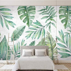 Tropical Herbarium Mural - Wallpaper Sample