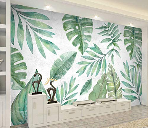 Tropical Herbarium Mural Wallpaper (SqM)