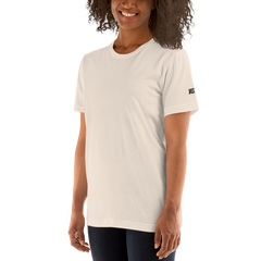JASS London Minimal Logo T-Shirt | White, Cream, Blue, Yellow