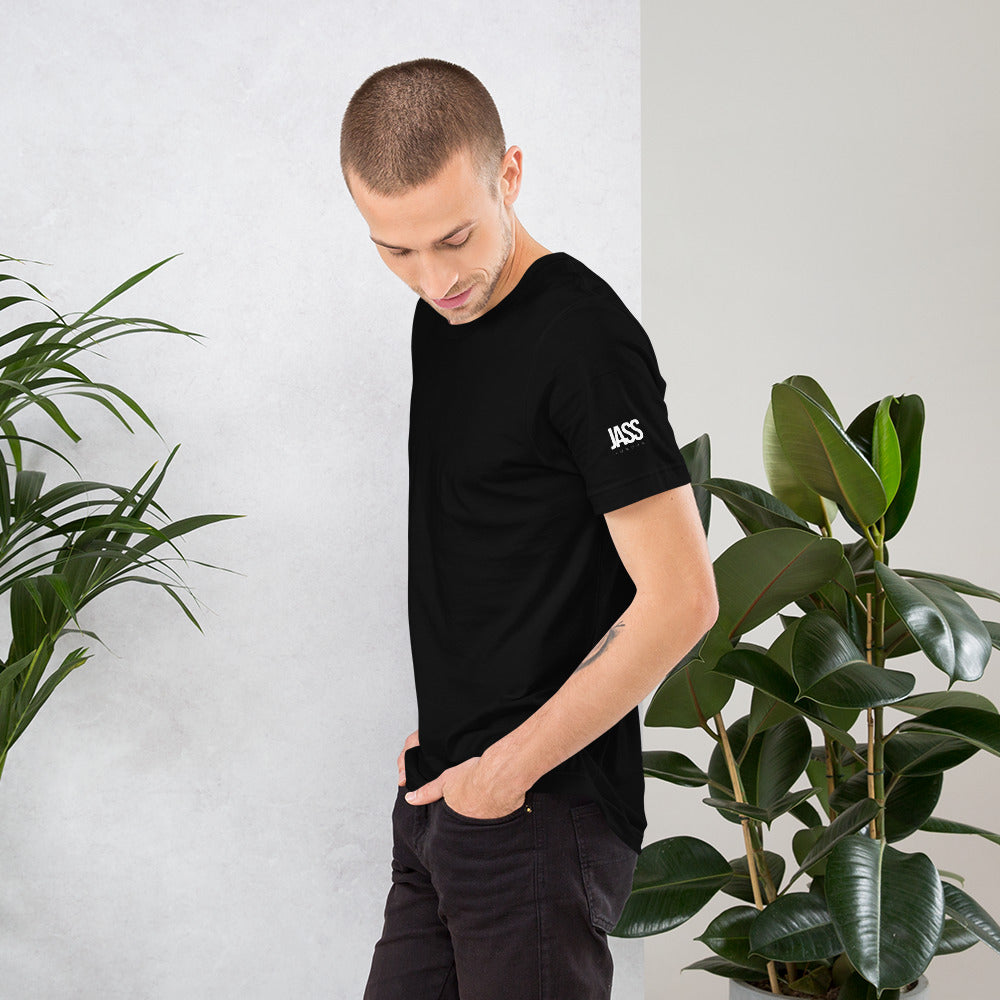 JASS London Minimal Logo T-Shirt | Black