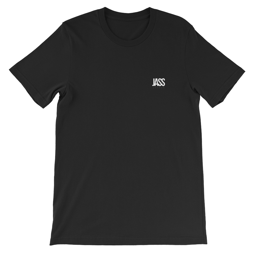 JASS London Logo Embroidery T-Shirt | Black