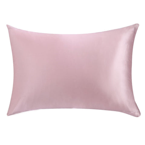 Pink Mulberry Silk Pillowcase