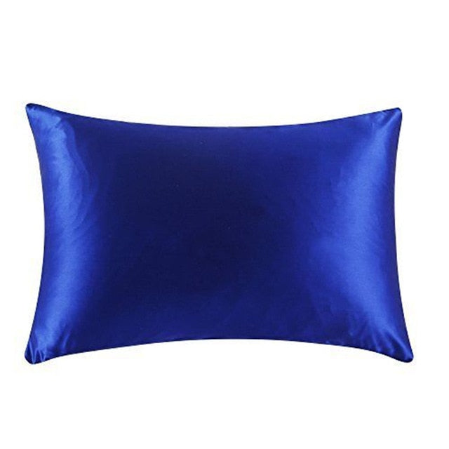 Royal Blue Mulberry Silk Pillowcase