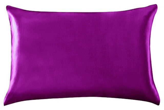 Multicolor Mulberry Silk Pillowcase