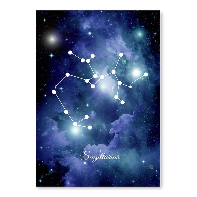 The Universe Zodiac Constellation