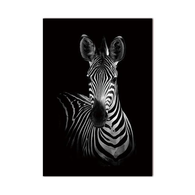 Zebra 2 Wall Art Canvas