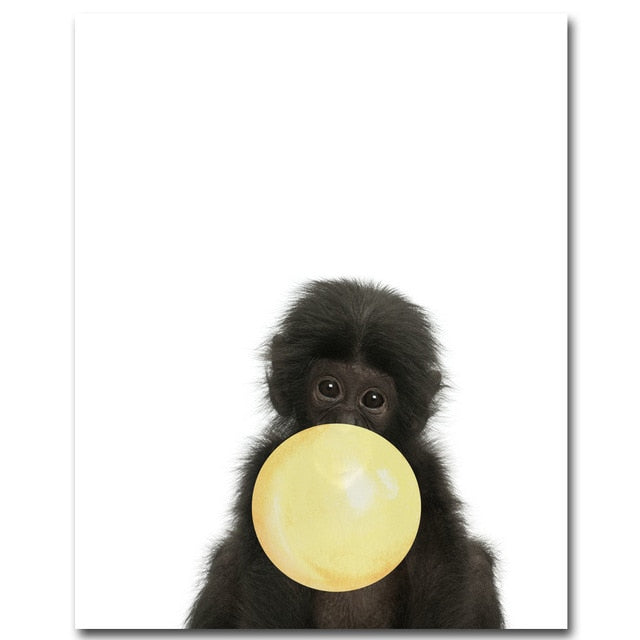 Bubble Gum Baby Animal Collection