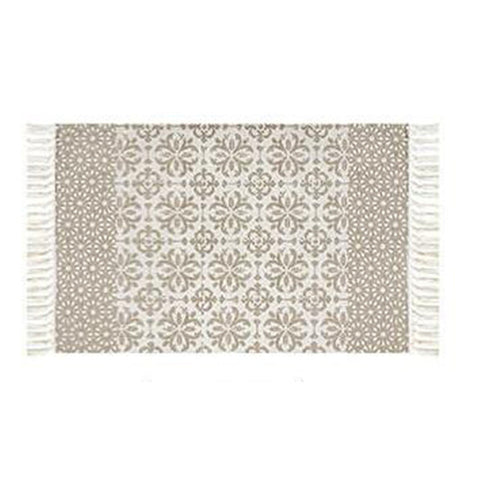 Ethnic Taupe Tyles Rug