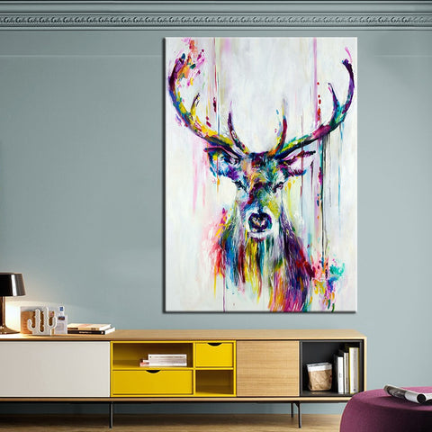 Fantasy Deer Wall Art