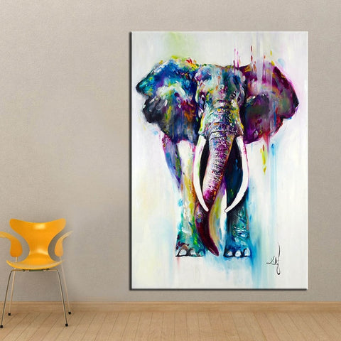 Fantasy Elephant Wall Art