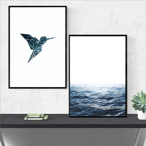 Hummingbird & Blue Ocean