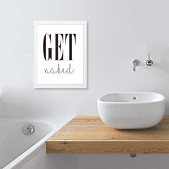 Get Naked Wall Art Decor