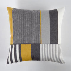 Geometric Embroidered Cushion Covers