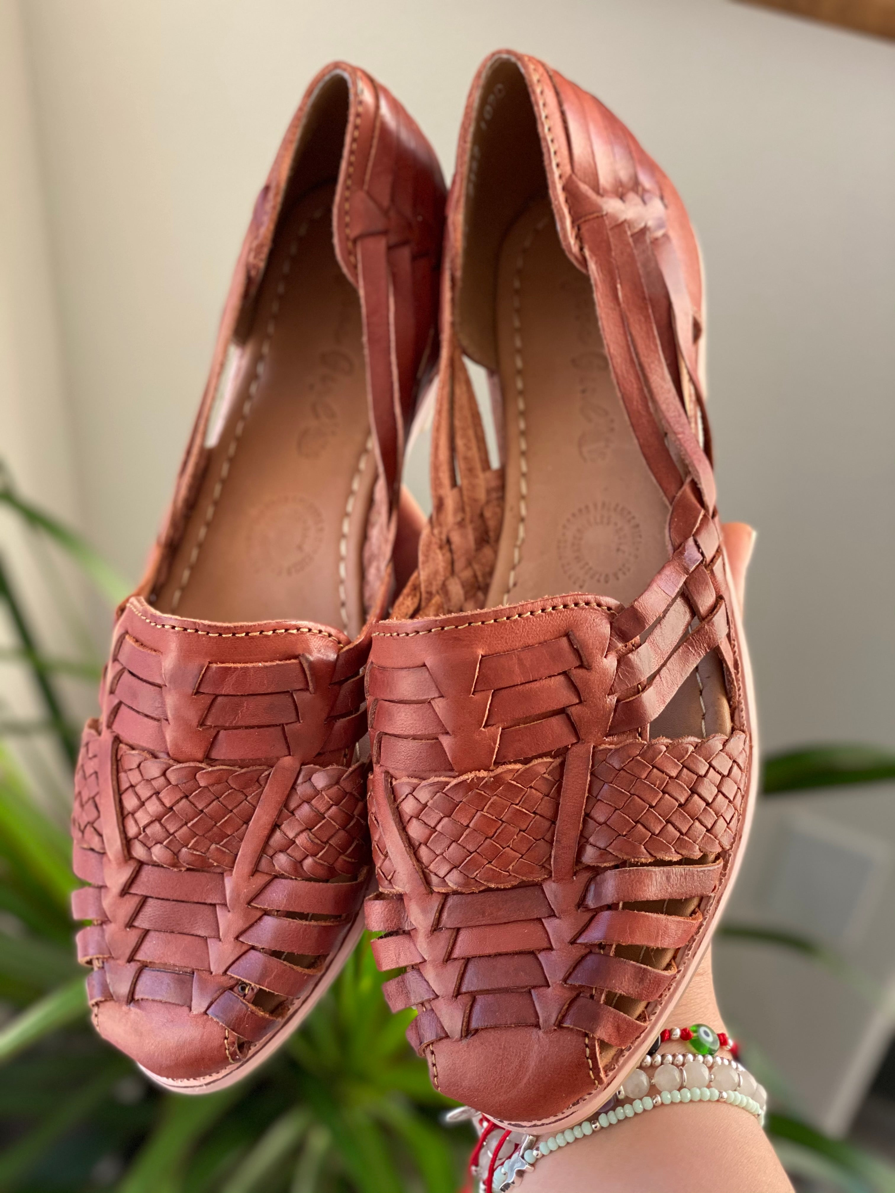 Josefina Huaraches - Brown