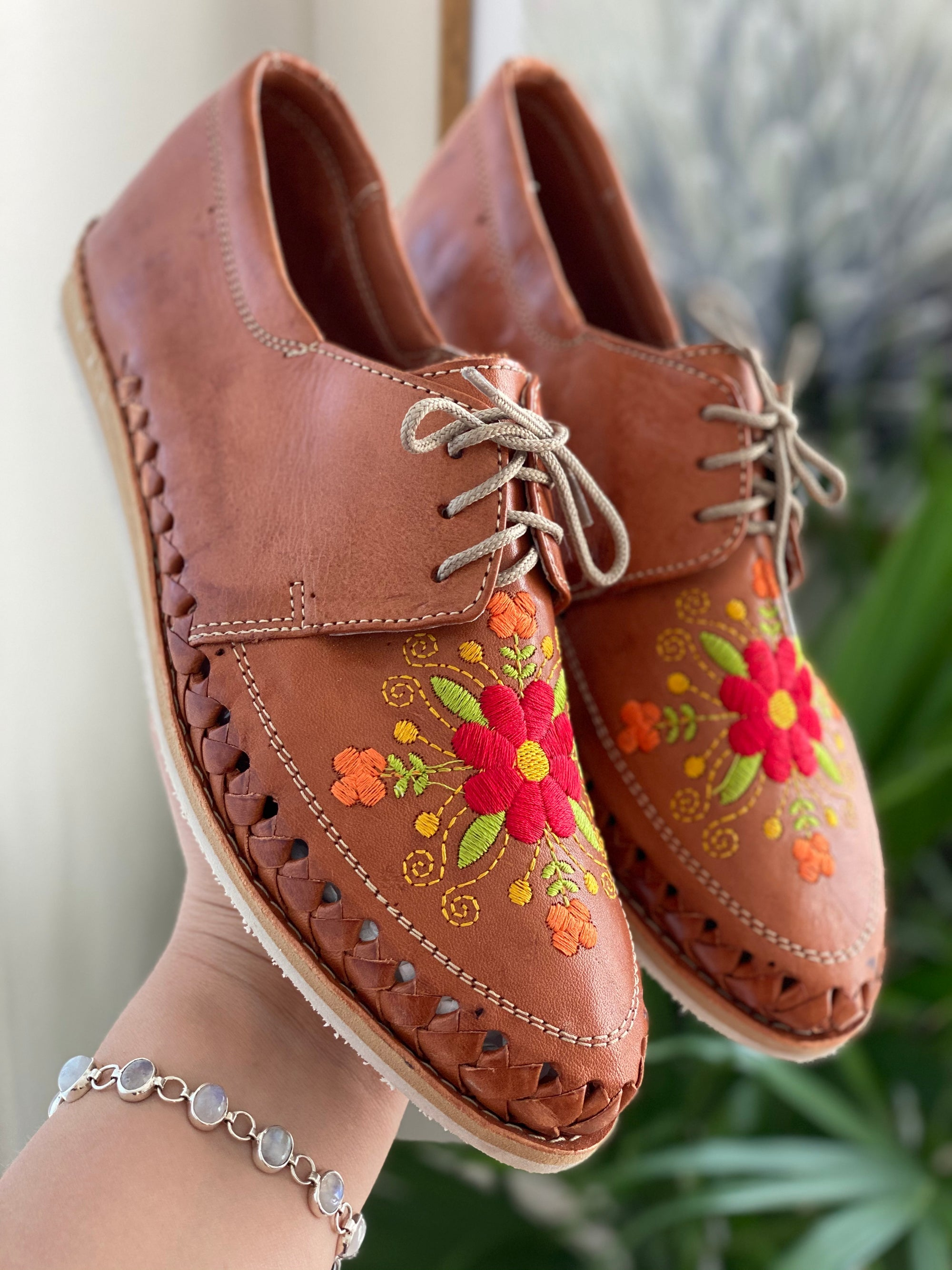 Nina Embroidered Loafers