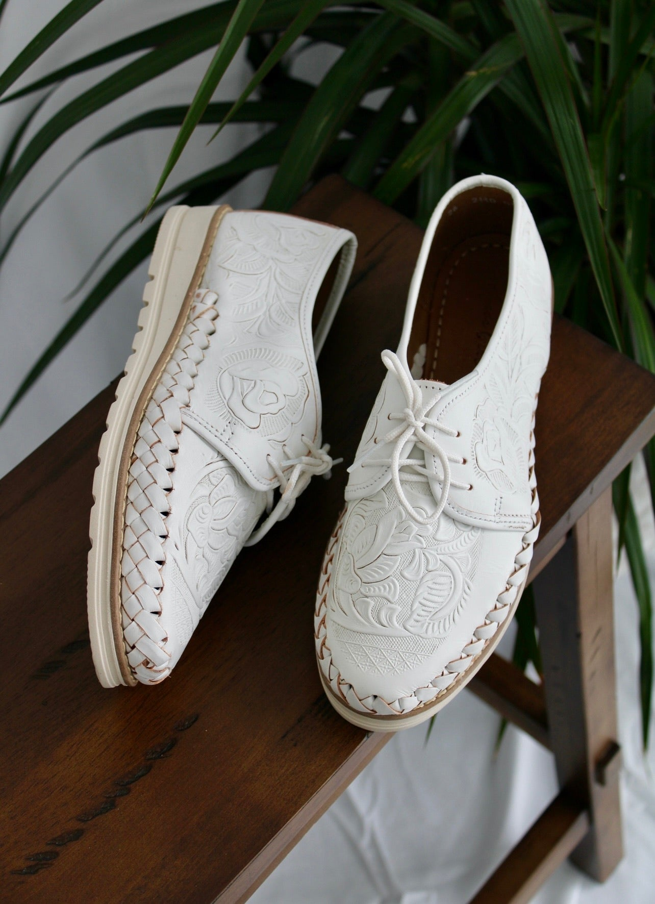 Valentina Loafers - White