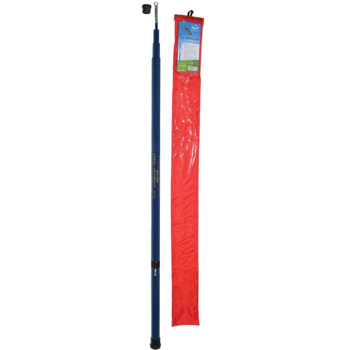 13 ft heavy duty collapsible windsock pole
