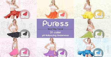 WOW! 31 Vibrant Color Underwear Especially for Skirt Season Next Big Trend