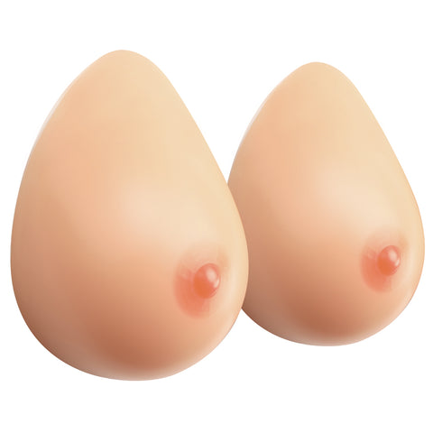 MOOVANT Silicone Breast Forms Crossdresser Prosthesis Mastectomy