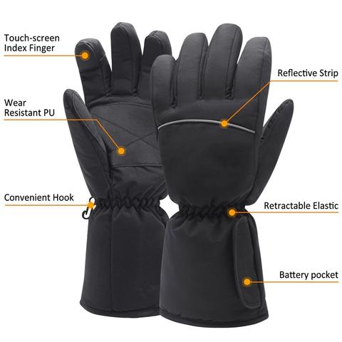 HANDY HEAT™ - Tactical Electric Heated Gloves