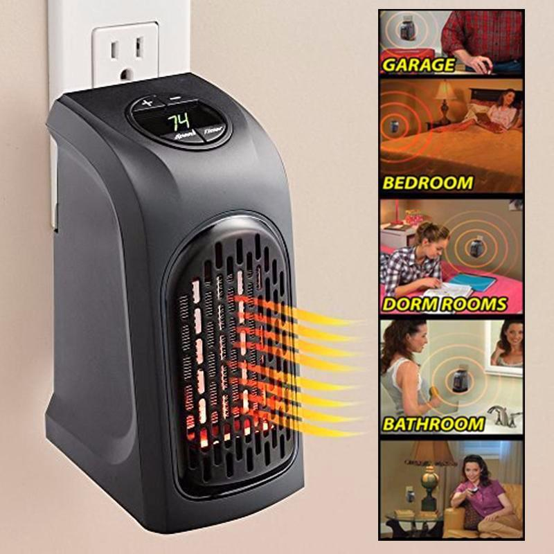 Home Heat Pro™ - Compact & Power-Saving Electric Heater
