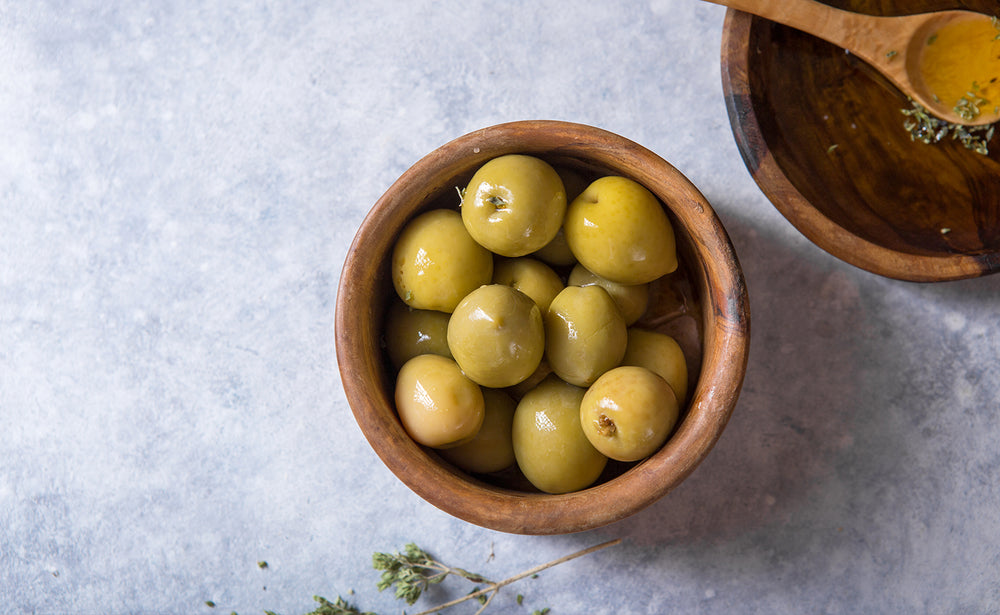 PDV Green Sicilian Olives