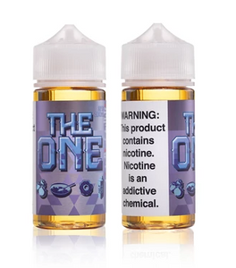 Blueberry Cereal Donut Milk by The One (100ml)